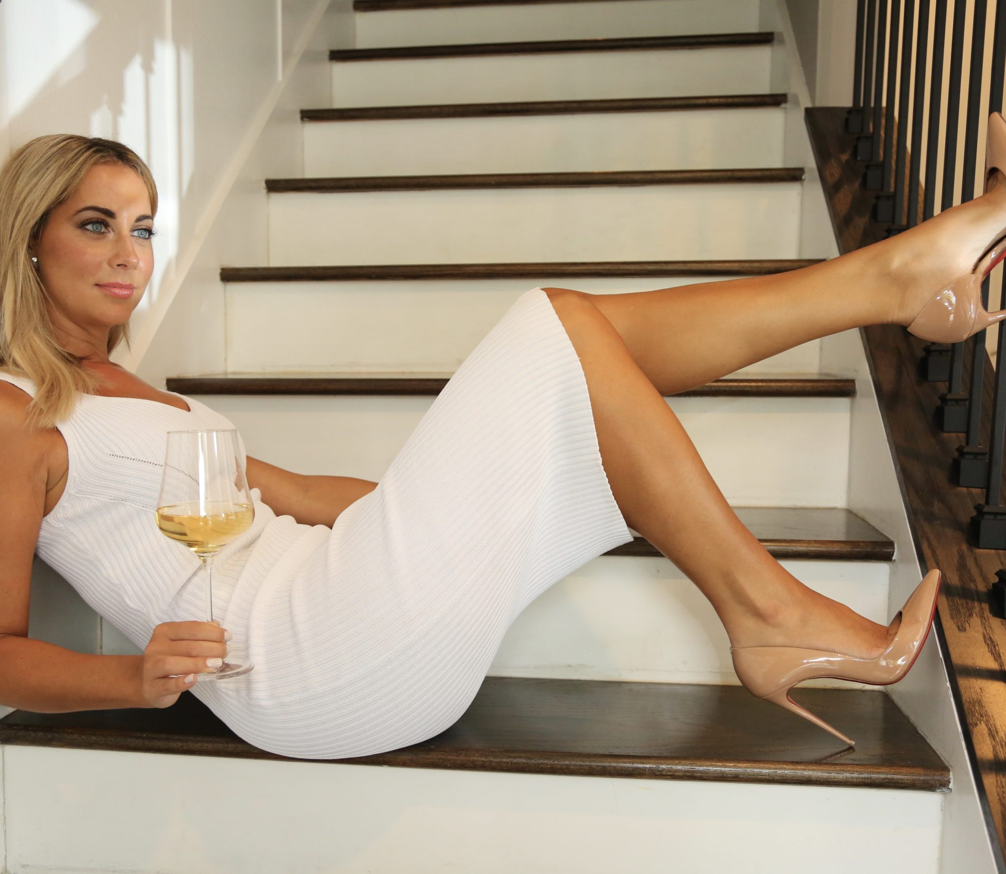 A FEW MOMENTS WITH...Gina Lyons - Leader of the Champagne Squad